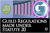 Guild Regulations made under Statute 20